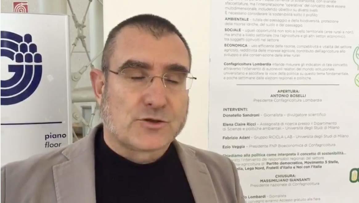 Donatello Sandroni - giornalista e divulgatore scientifico